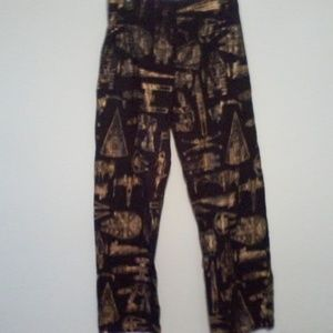 Star Wars lounge pants black and gold size large